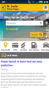 St. Lucia Yellow Pages screenshot 3