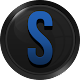 3D Black and Blue Icon Pack APK