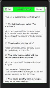 edMe Reading: Wizard of Oz- screenshot thumbnail
