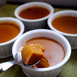 Vegan Pumpkin Custard.