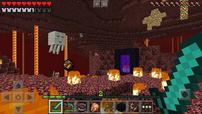 Minecraft - Pocket Edition v0.12.2 [Skins/2.3+No Damage]