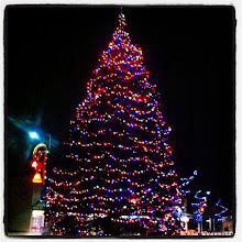 Photo: Maple Ridge Christmas Tree still up and running! #intercer #park #winter #light #lights #christmas #nice #bells #city #urban #town #britishcolumbia #canada #beautiful #cold #mapleridge #pittmeadows #night #holidays #street #backtoschool - via Instagram, http://instagr.am/p/UW2kMxpfmG/