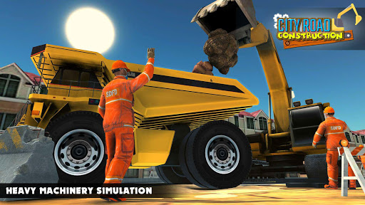 Mega City Road Construction Machine Operator Game modavailable screenshots 6