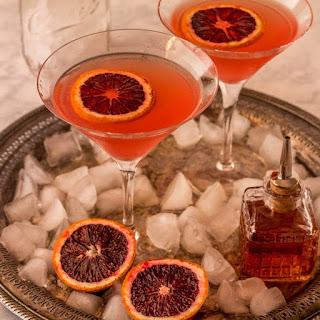 Orange Vesper Martini.