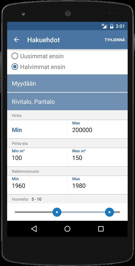Tori.fi- screenshot