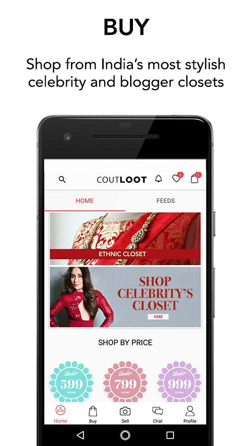 Coutloot: Click-Sell, Chat-Buy- screenshot