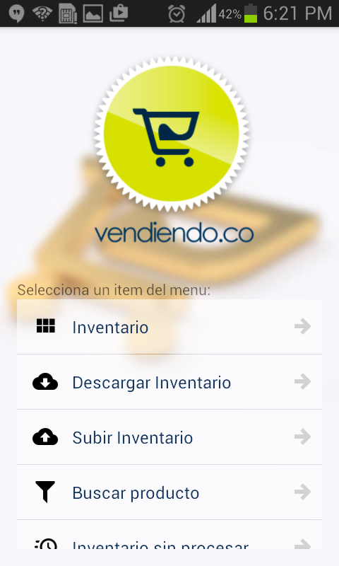 Inventarios Vendiendo.co- screenshot