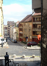 Photo: Ponty utca (pod Basztą Rybacką) - malowanie
