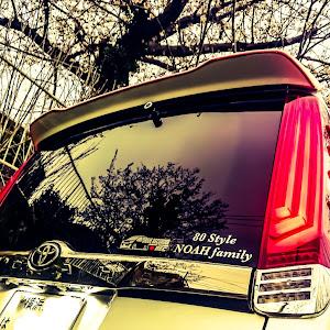 ノア ZRR80W  GR SPORTのカスタム事例画像 マー坊 80style NOAH familyさんの2020年04月04日06:12の投稿