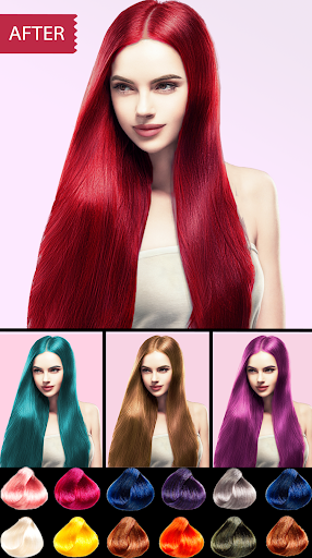 Easy Hair Color Changer Apk 1