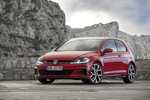 The new Volkswagen Golf GTi will arrive in SA in May along with the rest of the updated Golf range.   Picture: VOLKSWAGEN