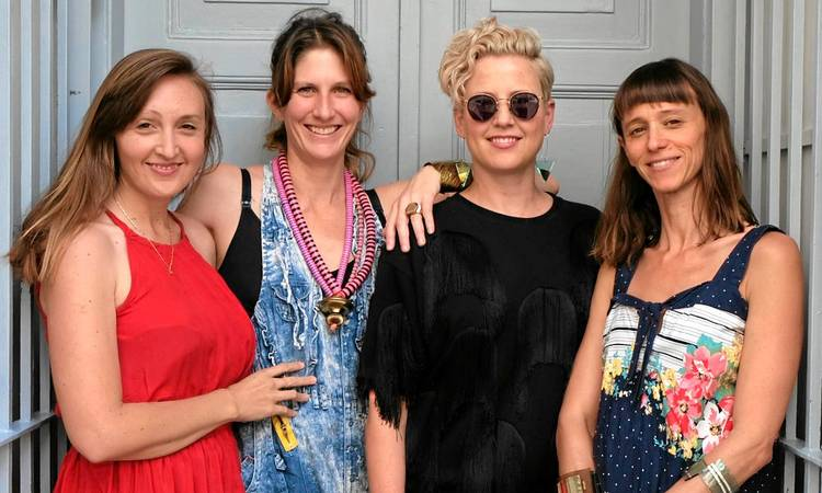 Ida Elsje, Chloe Townsend, Lizel Strydom and Philippa Green come together for an exhibition of jewellery tonight