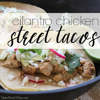Cilantro Chicken Street Tacos
