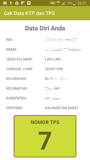 Cek data KTP dan TPS PEMILU 2018 2.0 screenshots 2