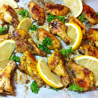 Lemon Pepper Marinated Chicken Wings Recipes.