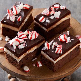 Peppermint Brownies.