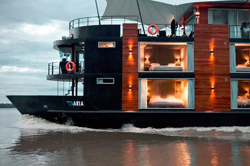 aria-exterior - Book your next Amazon River adventure on Aria.