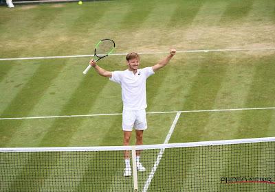 Goffin zet Verdasco in vier sets opzij en bereikt laatste acht op Wimbledon