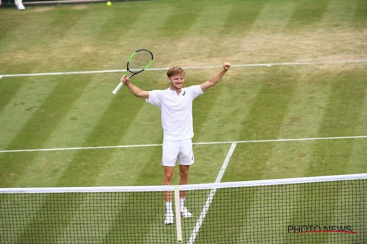 Dan toch een Belgische kwartfinalist: David Goffin schaart zich voor het eerst bij laatste acht op Wimbledon