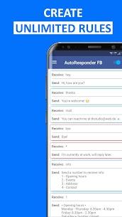 AutoResponder for FB Messenger – Auto Reply Bot v1.3.7 [Mod] 3