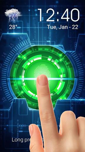 Prank Lock Screen Fingerprint&fingerprint scanner screenshot 3