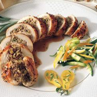 Sage Chicken with Black Walnuts