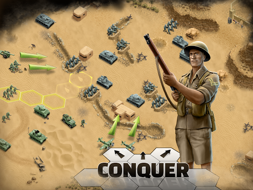 1943 Deadly Desert - a WW2 Strategy War Game 1.3.0 10
