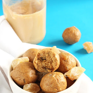 Gingersnap Cookie Energy Bites
