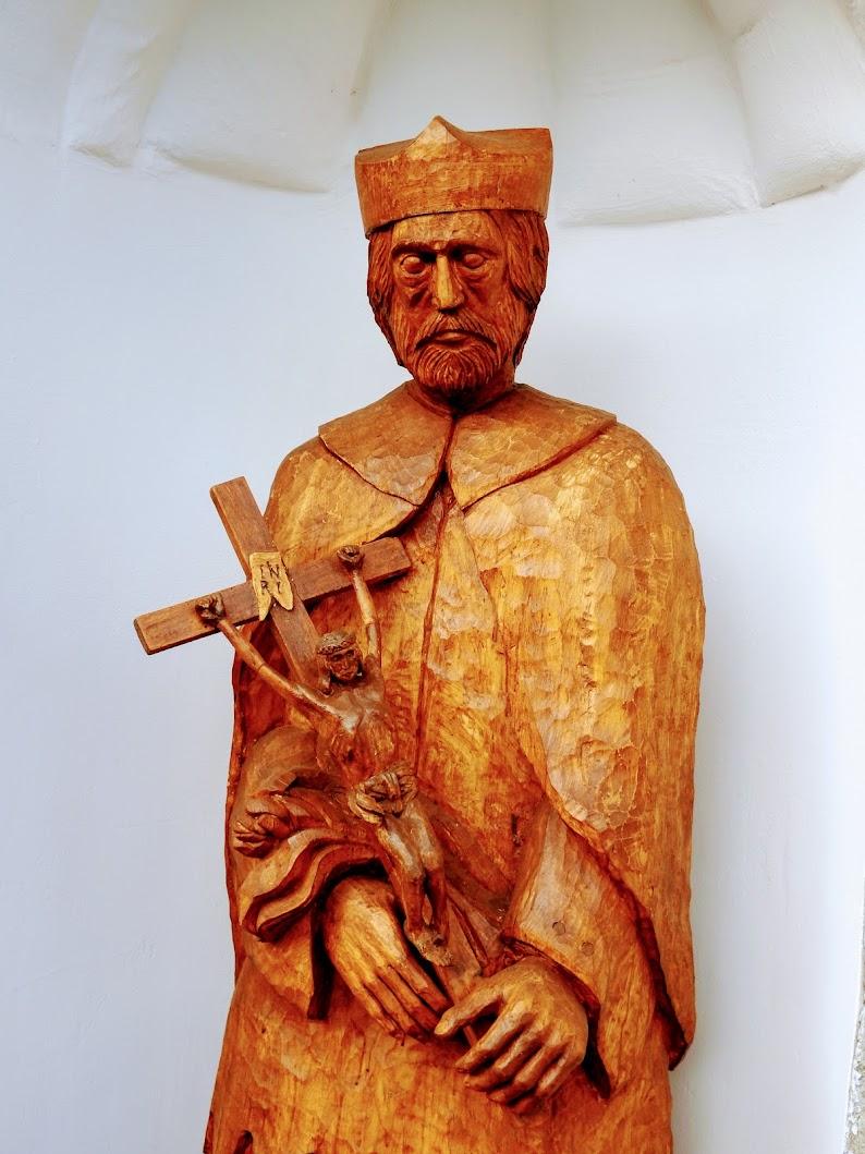 Velem - Nepomuki Szent János-szobor