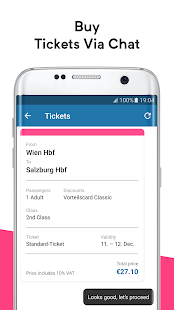 wegfinder: public transport, ticket, route planner- screenshot thumbnail