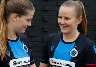 Les filles du Club Brugge ont un sponsor maillot