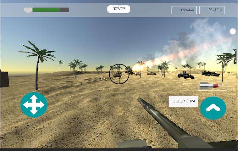 android Desert War Screenshot 2