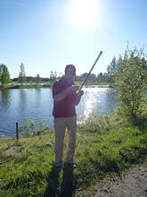 Photo: Pekka taisi sotkea jo yhden ongen