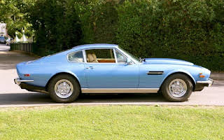 Aston Martin V8 Rent East Midlands