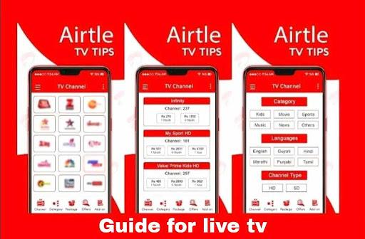 Tips for Airtel TV & Airtel Digital TV Channels cheat hacks
