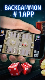Backgammon Tournament – free backgammon online 3.6.0 MOD + APK + DATA Download 1