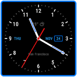 Live Wallpaper with Analog Clock 2018 Icon