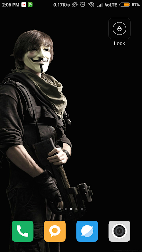 Screenshot for Anonymous Wallpaper in United States Play Store