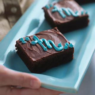 Monogrammed Jumbo Brownies