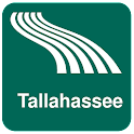 Carte de Tallahassee off-line icon