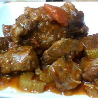 Osso Bucco and Vegetables