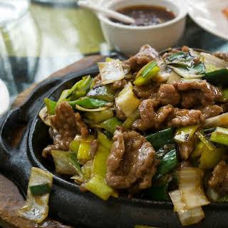 Easy Mongolian Beef.