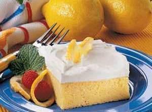 Lemony Yummy Cake Recipe