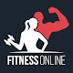 Fitness Online - weight loss workout app with diet apk