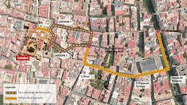 Propuestas para la carrera oficial de la Semana Santa de Almería.