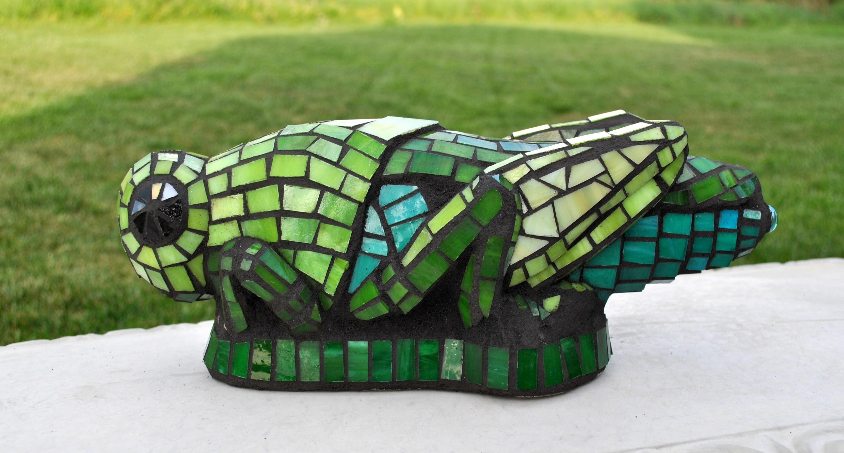 Mosaic Ladybugs & Grasshoppers
