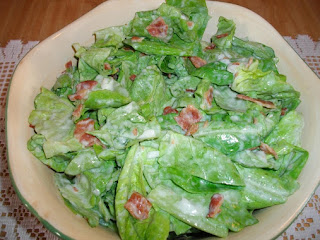 Grandma Richter's Wilted Lettuce Salad Recipe
