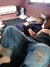 Photo: ・・・移動中、よく寝る二人。