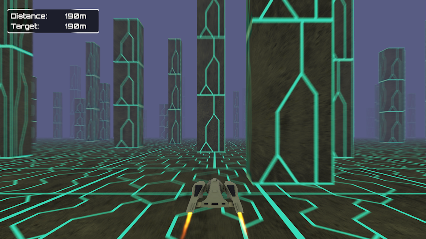 android Infinite Space Racer Screenshot 1