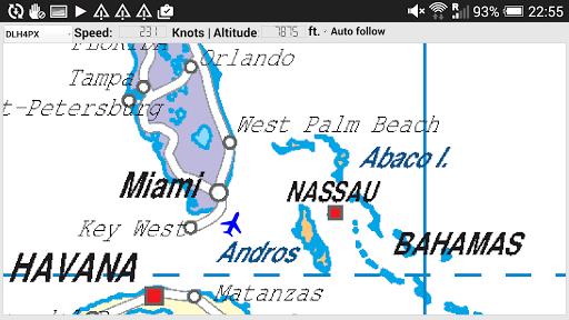 Track your flight N. America